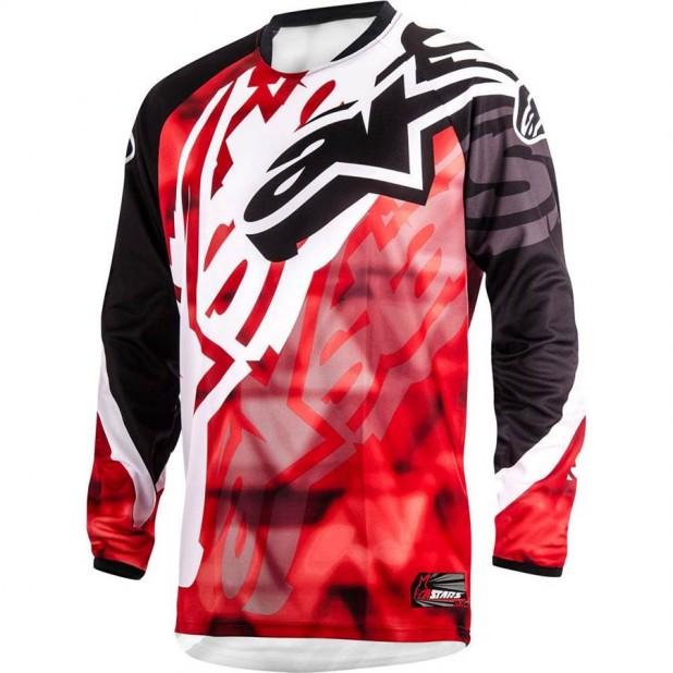 Camisa Alpinestars Racer 14 Vermelho/Preto