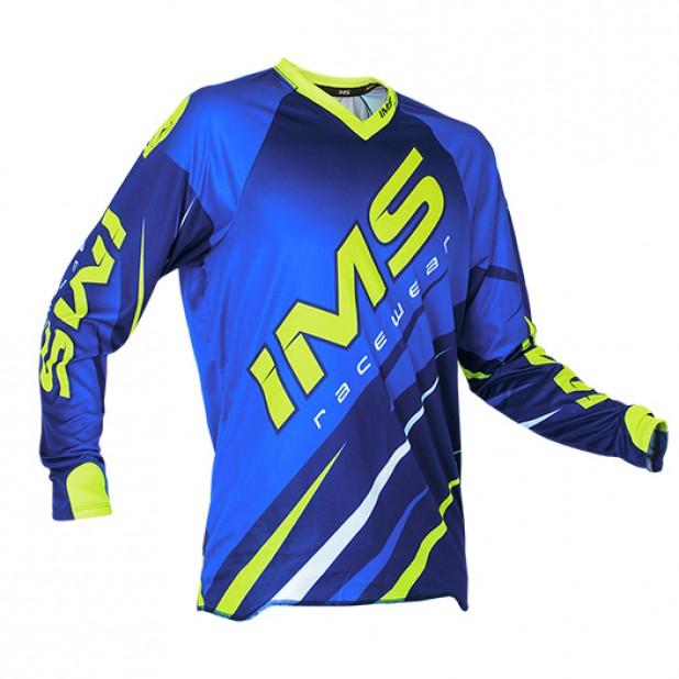 Camisa IMS Action Pro 2016 Azul/Neon