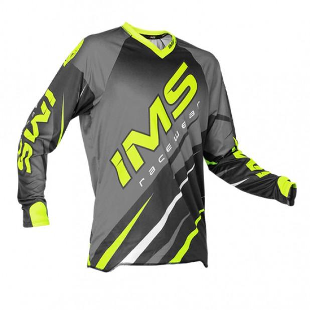 Camisa IMS Action Pro 2016 Cinza/Neon