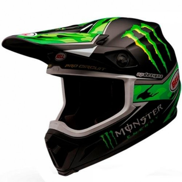 CAPACETE BELL MX-9 MONSTER