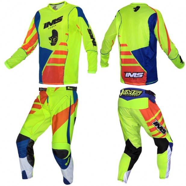 CONJUNTO IMS POWER - NEON LARANJA