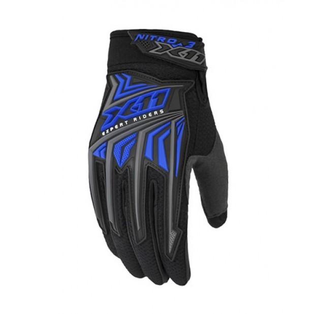 Luva X11 Nitro 3 Preto/Azul