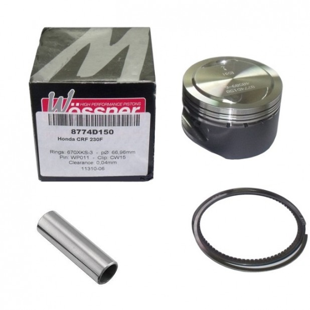 Kit Pistão Forjado Wossner CRF230 67,5mm 240cc