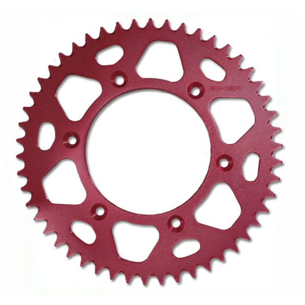 Coroa Alumínio Biker CRF 230/ CRFX-R/ XR 400 - Vermelho