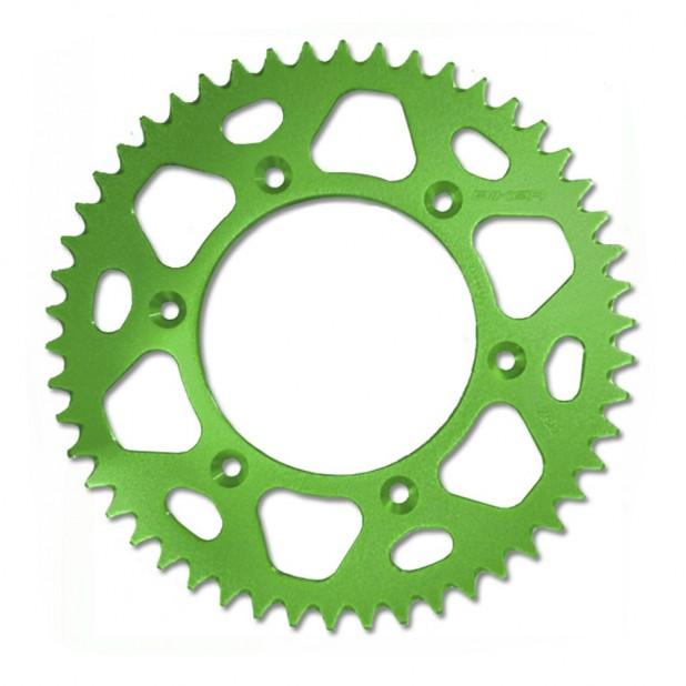 Coroa Alumínio Biker KX/ KXF 250/ 450/ KLX - Verde