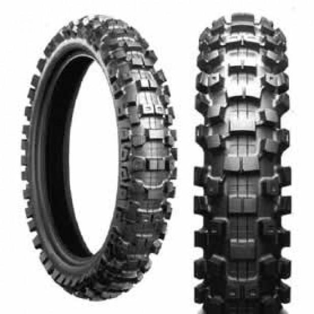 pneu traseiro 100/100-18 bridgestone m404