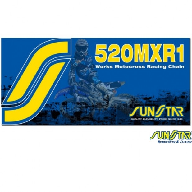 Corrente SUNSTAR Gold 520 x 120 Sem Retentor