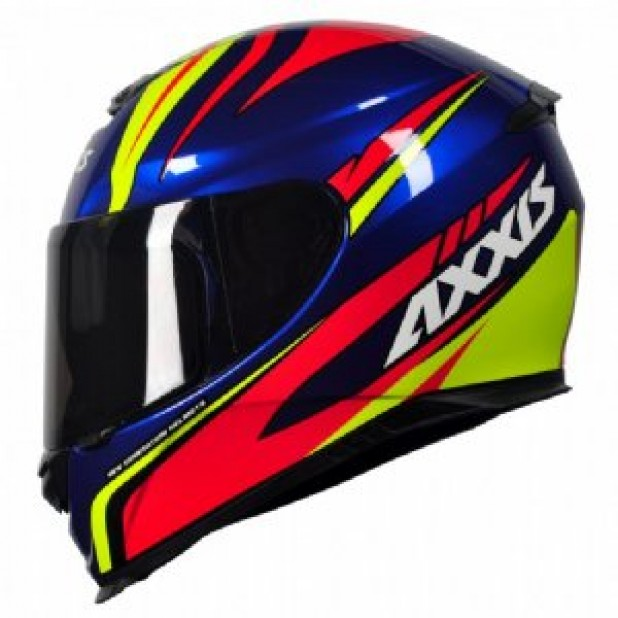Capacete Axxis Eagle Hybrid Race Azul