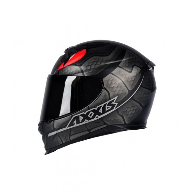 Capacete Axxis Eagle Snake Matt Black/Grey