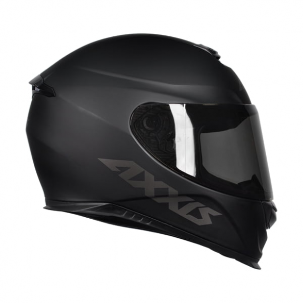 Capacete Axxis Eagle Solid Matt Black Grey