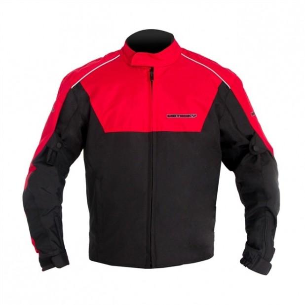 Jaqueta Motosky Motoqueiro Impermeável Vermelha