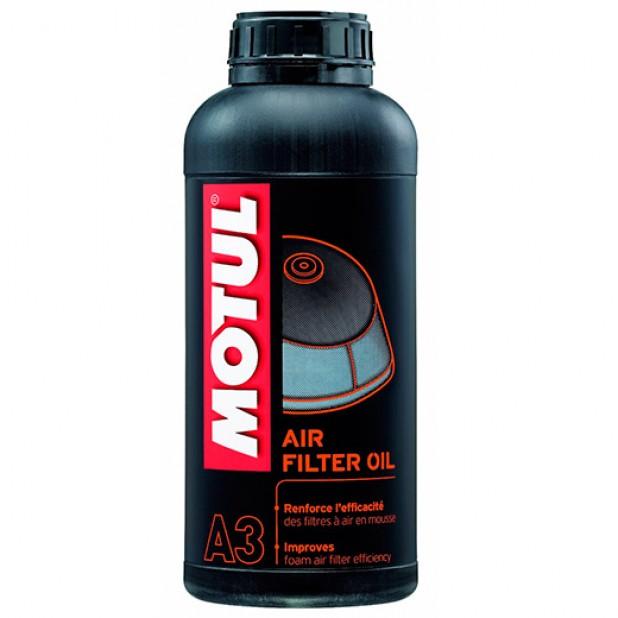 oleo de filtro ar motul a3 1 litro